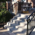 Front top stair rails