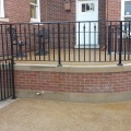 #2 view of curved patio rails